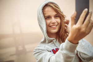 Selfie Health Benefits